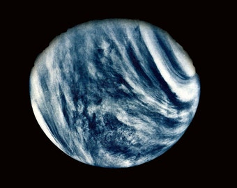 Mariner 10, Close-up Photo of Planet Venus, Space Picture