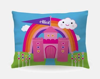 Princess Bedding, Princess Room Decor, Custom Princess Gift, Princess Birthday Gift, Personalized Princess Pillow, Girls Custom Bedding