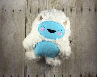 Furry Winter Yeti - Yeti Plush - Abominable Snowman