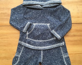 Organic Baby Clothes, Hoodie and Pants, organic set