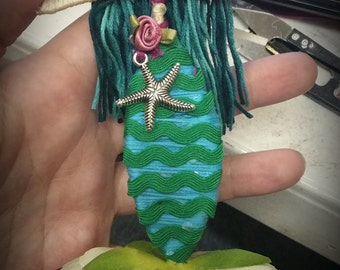 Custom Flower Fairy Doll / Flower Mermaid Doll