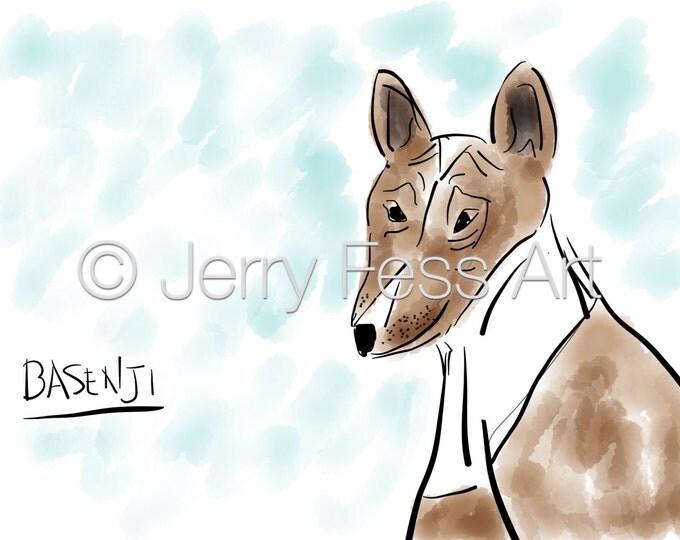 Featured listing image: Basenji Dog