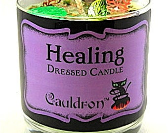 Healing Scented Jar Candle