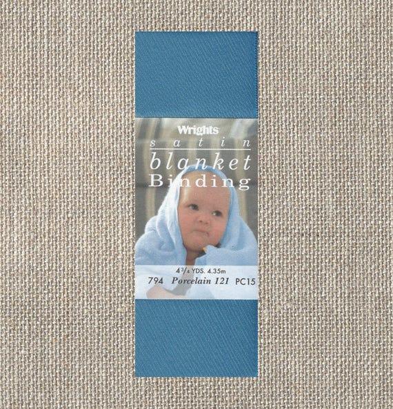 Wrights Satin Blanket Binding Single Fold Porcelain