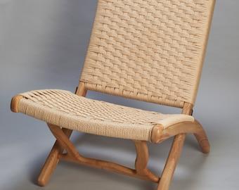 1960's Mid century HANS WEGNER style ash wood