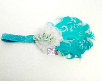 baby girl headband, photo prop, elastic headband, headband, infant headband, todler headband, little girl headband, crown headband