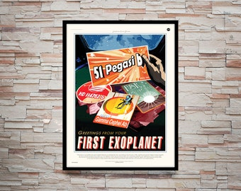 Reprint of a NASA First ExpoPlanet Poster