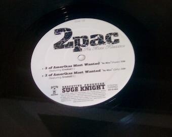 """2pac nu mixx klazzics 2 of amerikaz most wanted 12""""  lp record vinyl"""
