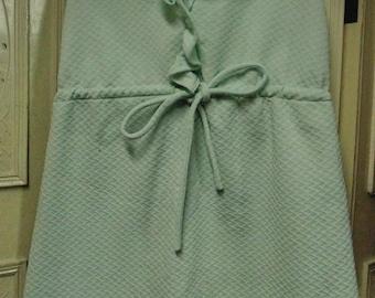 """1960 Pale Green Dress, Bust 35"""""""