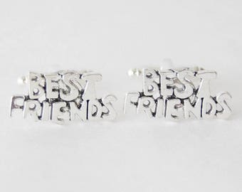 Best Friends Cufflinks, Best Friends Gifts, BFF Cufflinks, Groomsmen Cufflinks, Best Friends Accessories, Cuff Links & Accessories