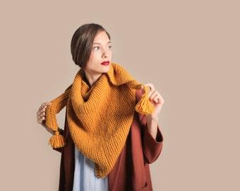 Clerkenwell Scarf knitting kit