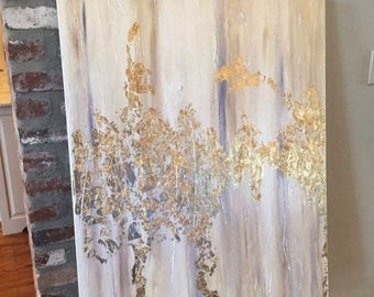 30in x 40in textured painting