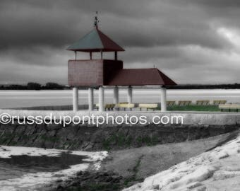 """An Original Signed & Limited Edition Archival Pigment Print by Russell duPont - """"Sugar Bowl, South Boston"""""""