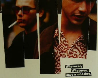 """My Own private Idaho - River Phoenix - Movie Poster Framed Picture 11""""x14"""""""
