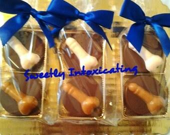Penis Oreo Cookie Party Favor Duos. Bachelorette favors, adult party favors, adult cookies.