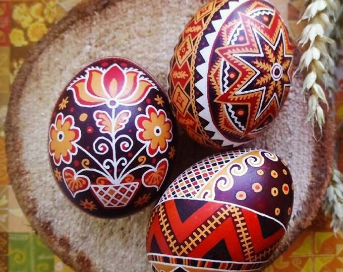 Modern Ukrainian Pysanka - Easter gift