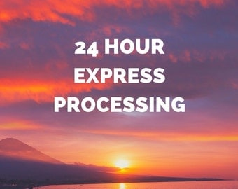 24-hour Express Processing Upgrade (Business Day)