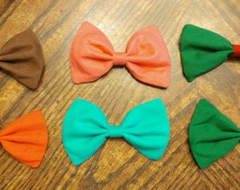 Solid Bow CUSTOMIZABLE [hair bow OR bow tie]