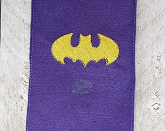 Finger Puppet Storage Bag with Bman Logo - CUSTOM COLOURS