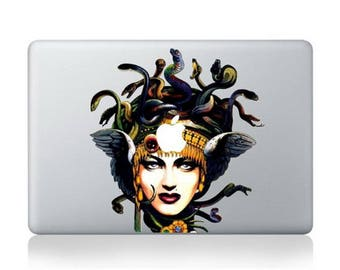 "Medusa and apple Macbook Air/Pro 13"" Removable Vinyl Sticker"