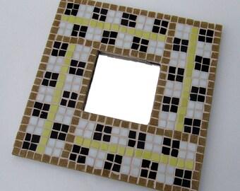 Mirror Mosaic Wall Art ocean themed mosaic wall hanging with mirror-mosaic