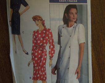 Butterick 3802, size 16, misses, petite, dress, UNCUT sewing pattern, craft supplies,