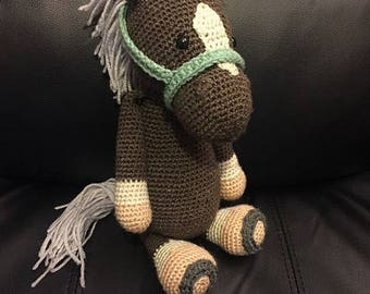 Crochet pony / horse toy