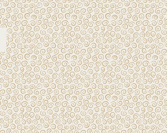 Lewis & Irene To Catch a Dream Patchwork Quilting Fabric A171.1 Dream Swirls on Cream