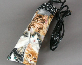 Curling Iron Cover - Cats