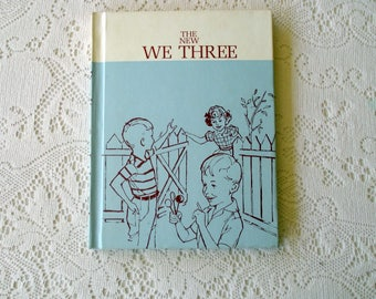 Vintage Textbook- The New We Three