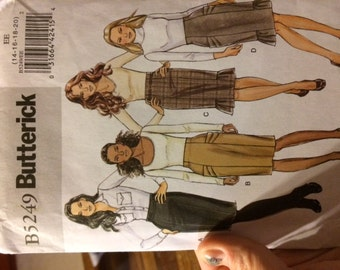 Butterick Pattern 5249 fitted Skirt sizes 14-20