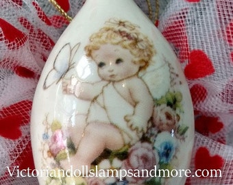 Valentine Keepsakes  Porcelain Ornament