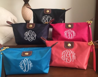 Small Nylon Wristlet - Bridesmaid -  Wristlet - Monogrammed