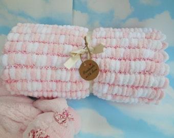 Aldi Knitting Pattern Baby Blanket : knit baby blanket   Etsy