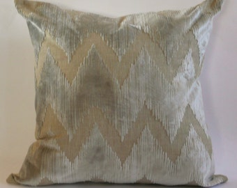 Watersedge Cut Velvet  Pillow Cover