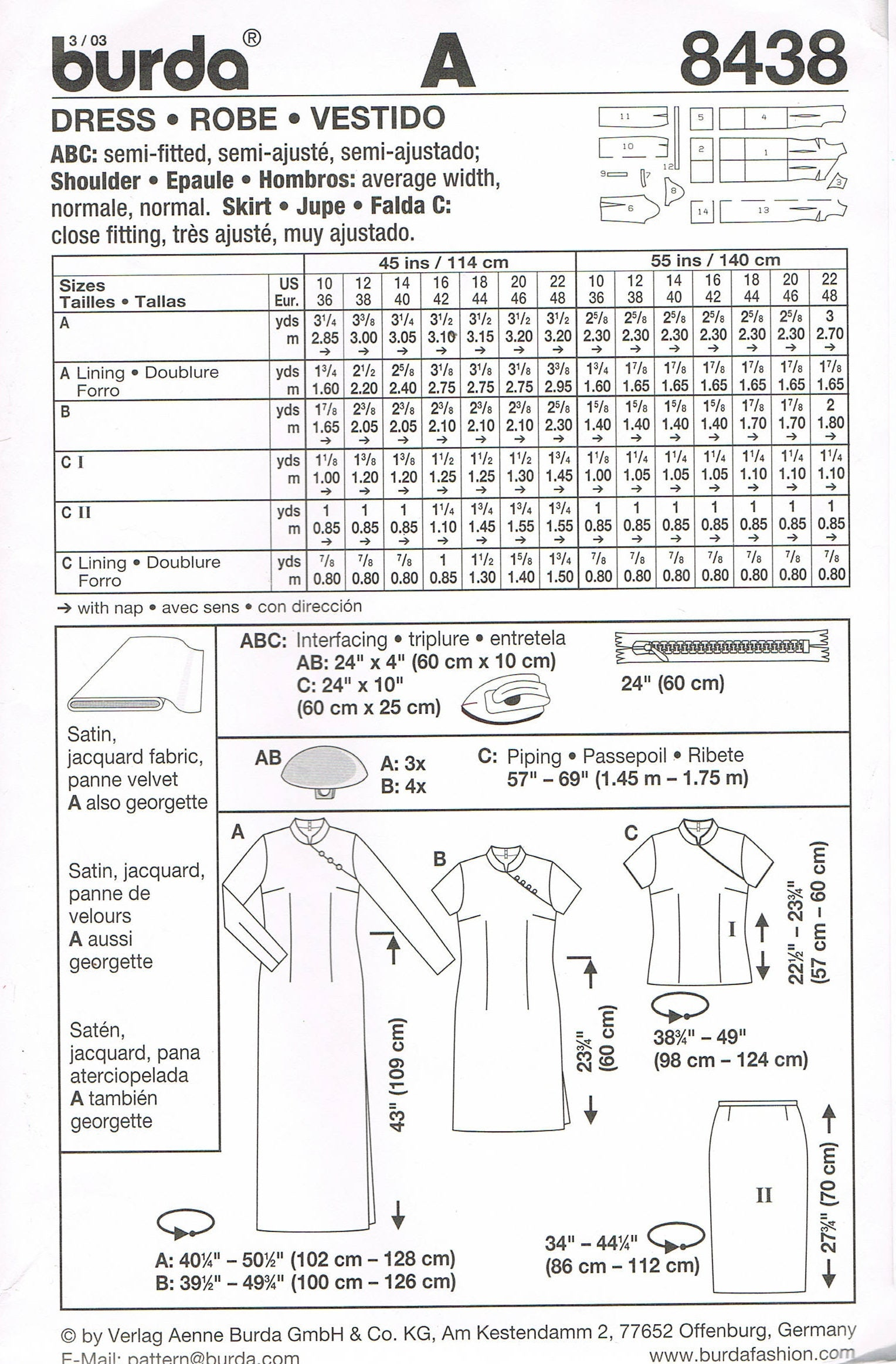 Size 10 22 misses dress tunic top sewing pattern long 300 shipping jeuxipadfo Choice Image