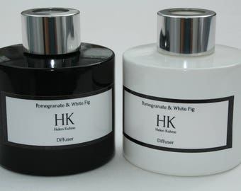 HK (Helen Kuhne) Pomegranate & White Fig Black/White 100ml Diffuser