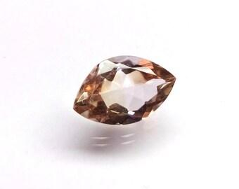 Loose Ametrine Gemstone 16x10x7 mm 6.50 Cts Bi Colors Gemstone