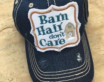 Barn Hair Dont Care Trucker Hat