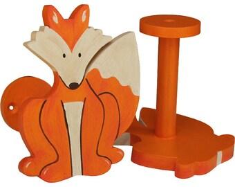 Fox Curtain Holdbacks - Woodland Fox Curtain Tiebacks