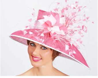 Flamingo Kentucky Derby Hat