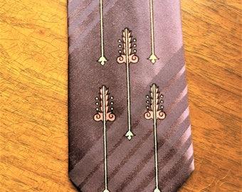 Vintage 50s Pelham Cravate Wild Pattern Tie