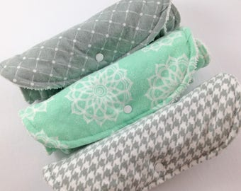 First Baby Gift Set Baby Burp Cloth Set Gender Neutral Baby Gift Burp Clothes Unisex Baby Shower Gift Burp Clothes Burp Rag Set