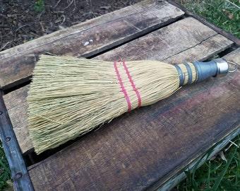 """Vintage Hand Whisk Broom - 10"""""""