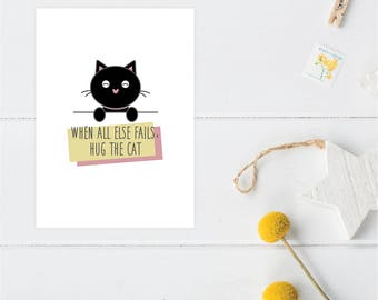 Greeting Card | Little Friends Collection | Kitty