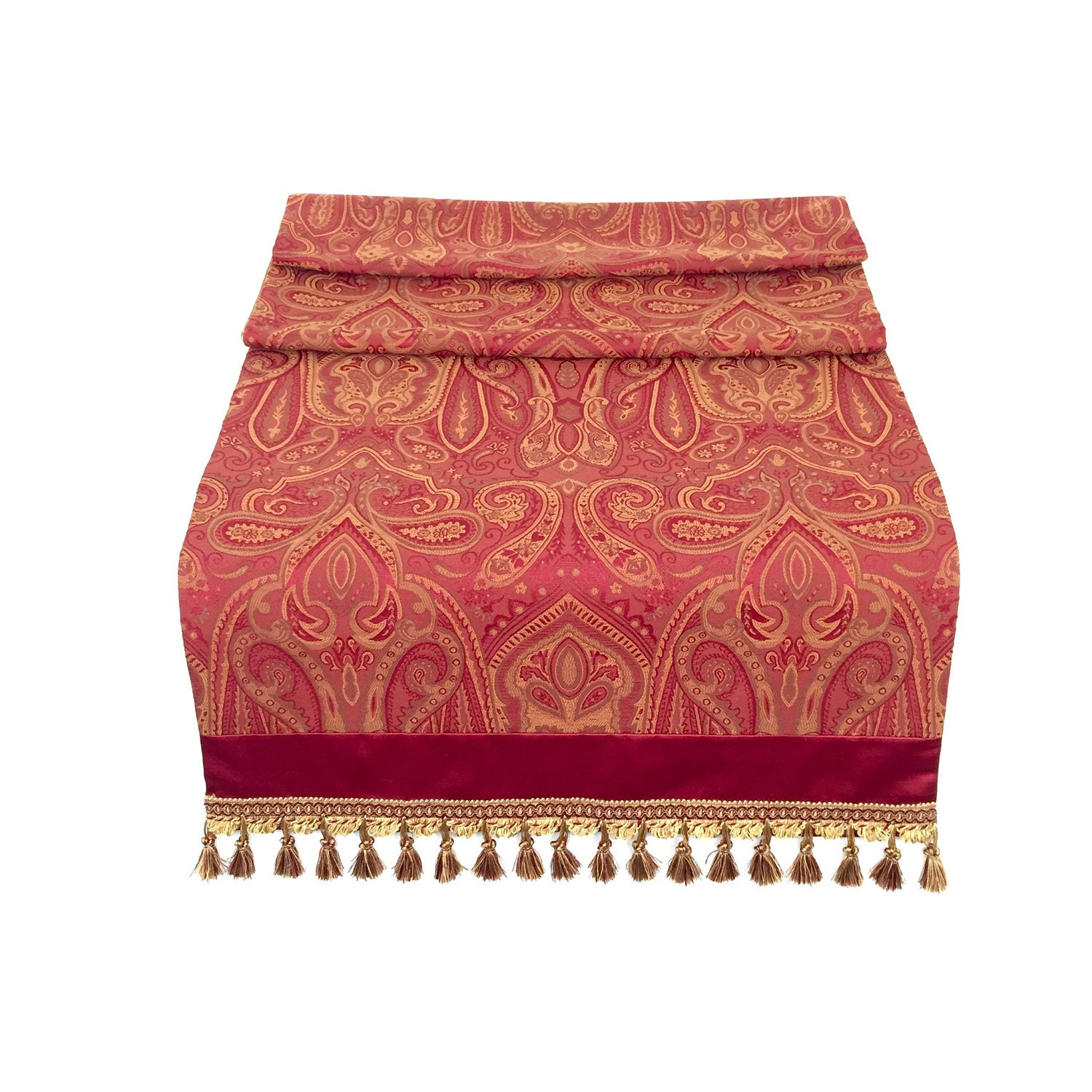 traditional dining room paisley table runner elegant table