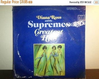 Save 30% Today Vintage 1967 Vinyl LP Diana Ross and the Supremes Greatest Hits Excellent Condition 9236