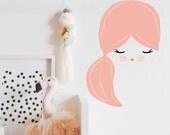 Sleeping Beauty Sweetie  - WALL DECAL