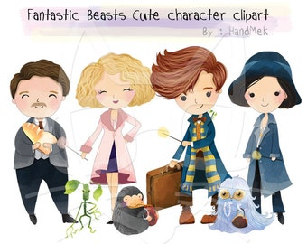 """Shop """"fantastic beasts and where to find them"""" in Clip Art"""