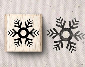 Stamp with snowflake Saimi X 1,5 x 1,5 cm